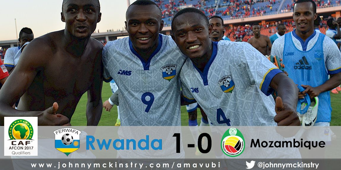 AFCON 2017: Rwanda defeat Mozambique 1-0 away in Qualifier