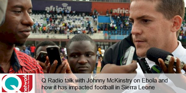 Q Radio: Coach McKinstry, his coaching work and the impact of Ebola...