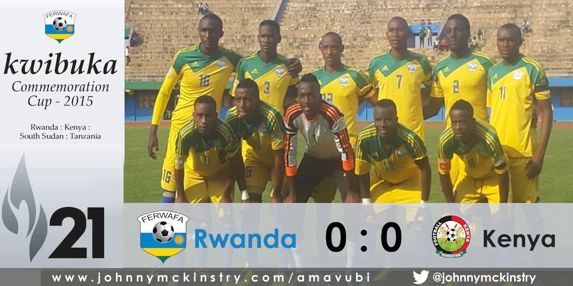 Rwanda impress fans with impressive display against Kenya (Commemoration Cup)