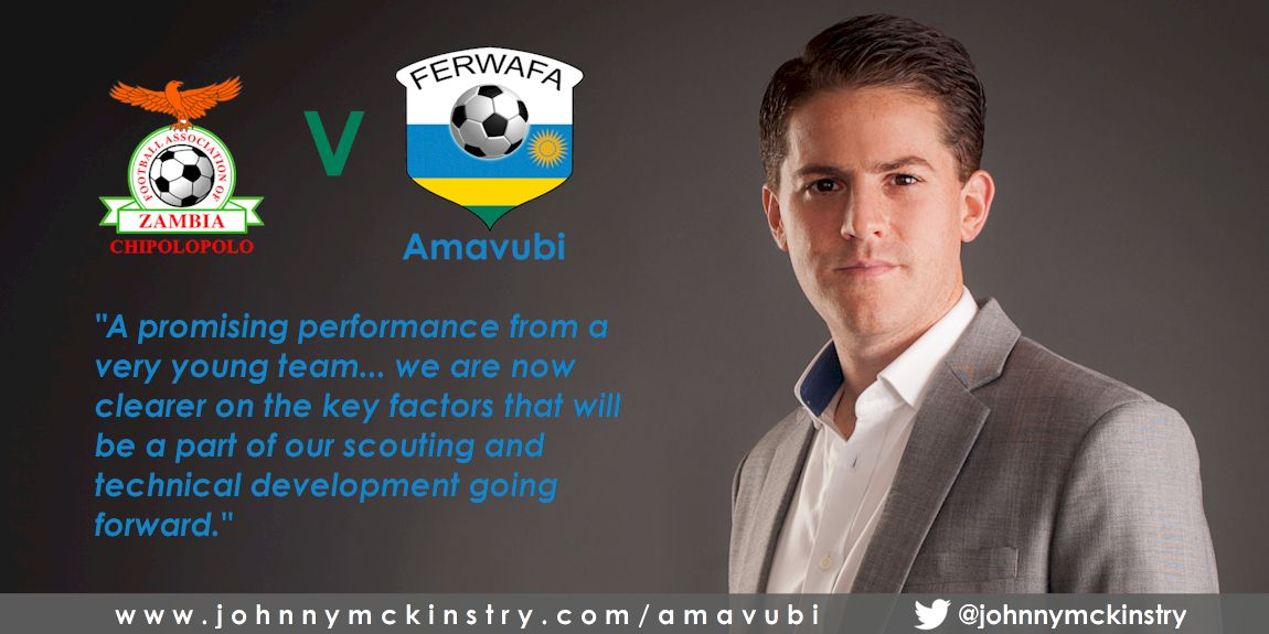 Coach McKinstry clear on steps to build Amavubi following Zambia friendly.