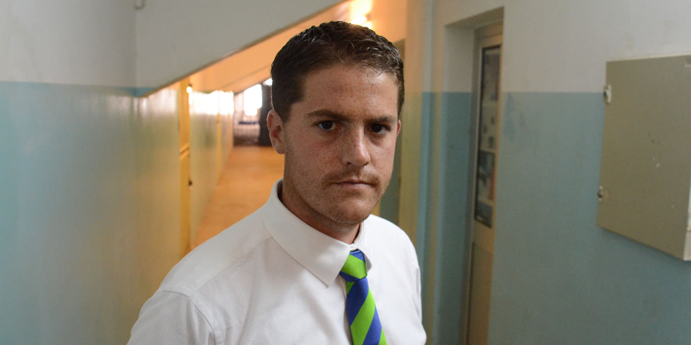 Leone Stars Head Coach Johnny McKinstry  [in Cape Verde, June 2013 (Pic: Darren McKinstry)]
