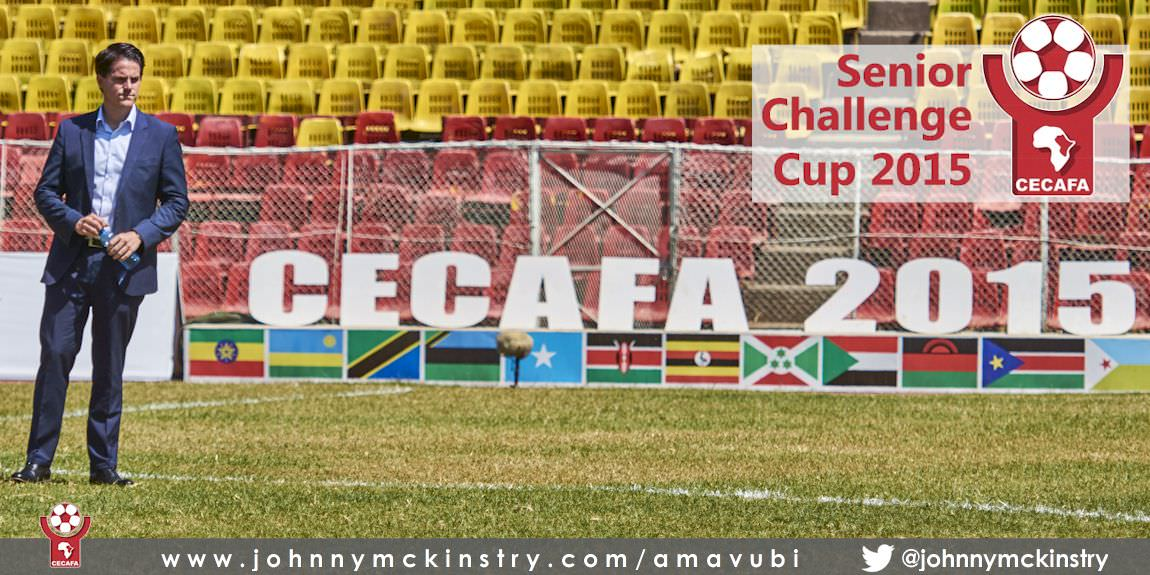 CECAFA 2015: Coach McKinstry named 'Coach of the Tournament'