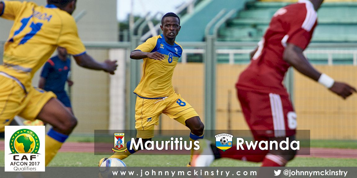 [Mauritius V Rwanda, AFCON 2017 Qualifier, 26 March 2016 in Mauritius.  Photo © Darren McKinstry 2016, www.XtraTimeSports.net]