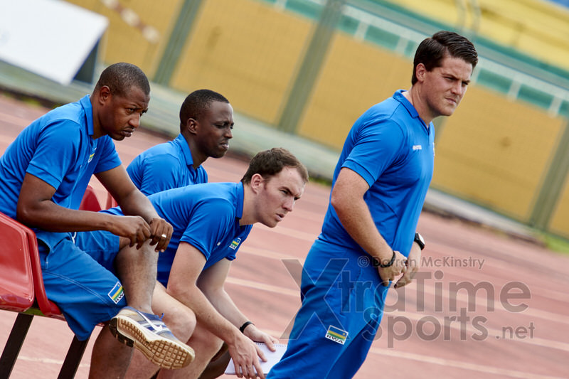 Coach McKinstry[Mauritius V Rwanda, AFCON 2017 Qualifier, 26 March 2016 in Mauritius.  Photo © Darren McKinstry 2016, www.XtraTimeSports.net]