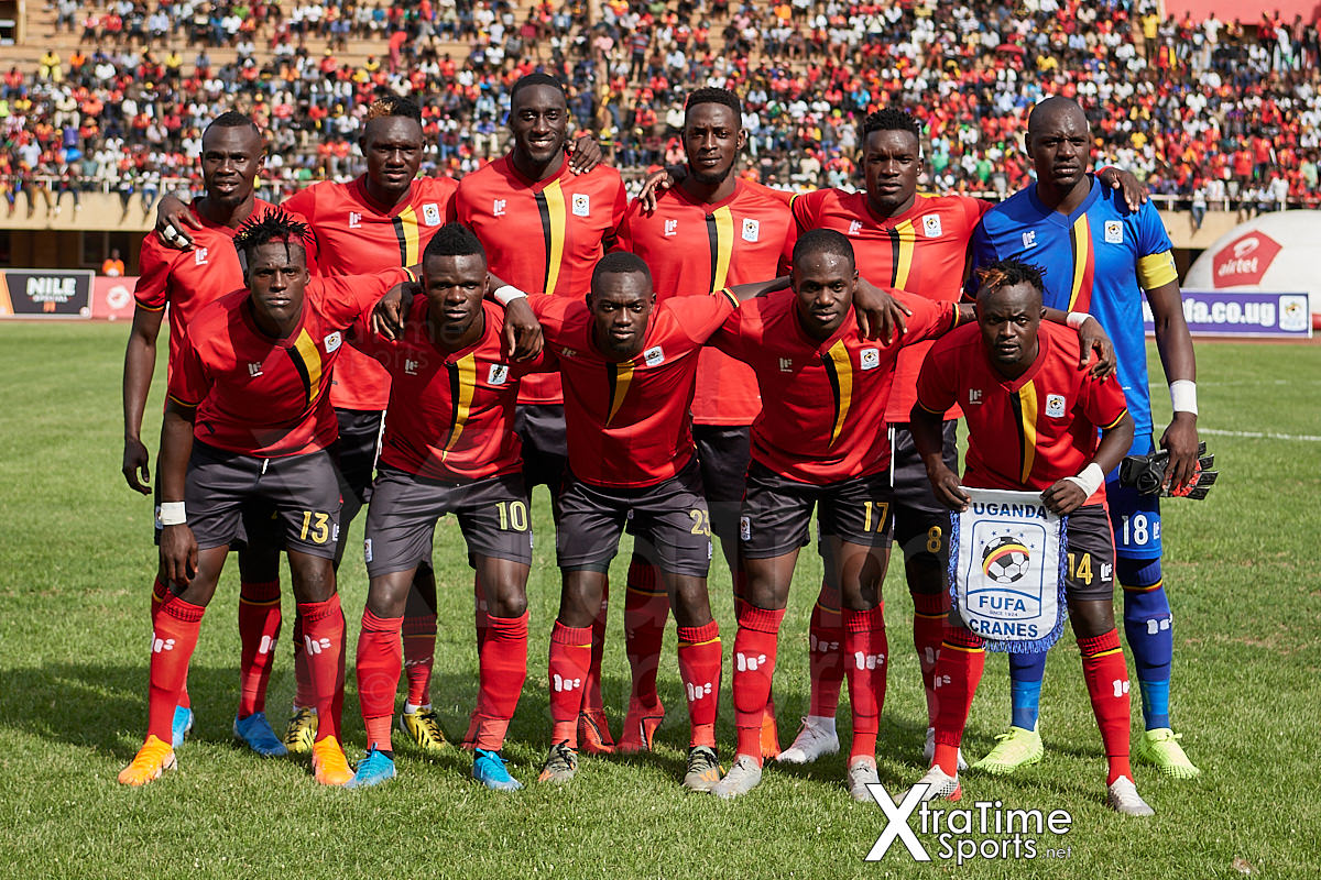 Uganda Team. Uganda v Malawi, CAF Nations Cup / African Cup of Nations Qualifier.  Nelson Mandela Stadium at Namboole.  Credit: XtraTimeSports (Darren McKinstry)